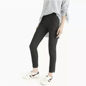 J. Crew Martie slim crop stretch pants